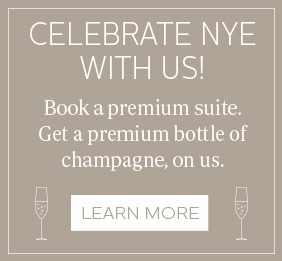 Celebrate NYE with the James Hotel